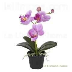 Plantas artificiales con flores. planta flores orquideas artificiales z99 - la llimona home