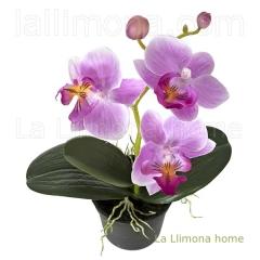 Plantas artificiales con flores. planta flores orquideas artificiales z99 1 - la llimona home
