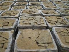 Palets de piedra caliza irregular RA�CES