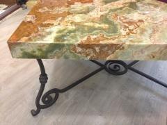 Mesa marmol onix