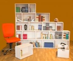 Estanterias modulares timber-box
