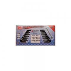 Juego 8 llaves fijas (dos bocas) din 3110, 6x7-20x22 mm