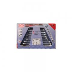 Juego 12 llaves combinadas din 3113 6-22 mm
