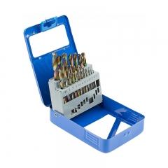 Juego 19 piezas de brocas, cobalto, hss, 1-10 mm