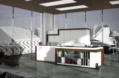 Mobiliario de cocina dise�ado para Doppo cocinas.