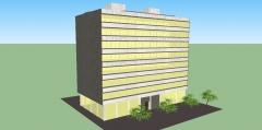 Torre helix 004. edificio de oficinas.