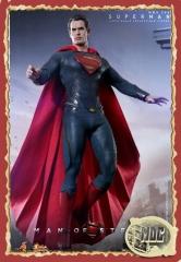 Man of steel superman  hot toys esc:1/6 30cm.