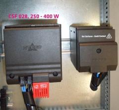 Resistencia calefactora con ventilador serie csf 028 como mejora de nuestra gama csl 028