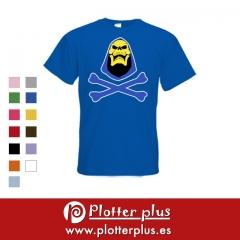 Camiseta de skeletor, disponible en plotterplus y en nuestra tienda online.