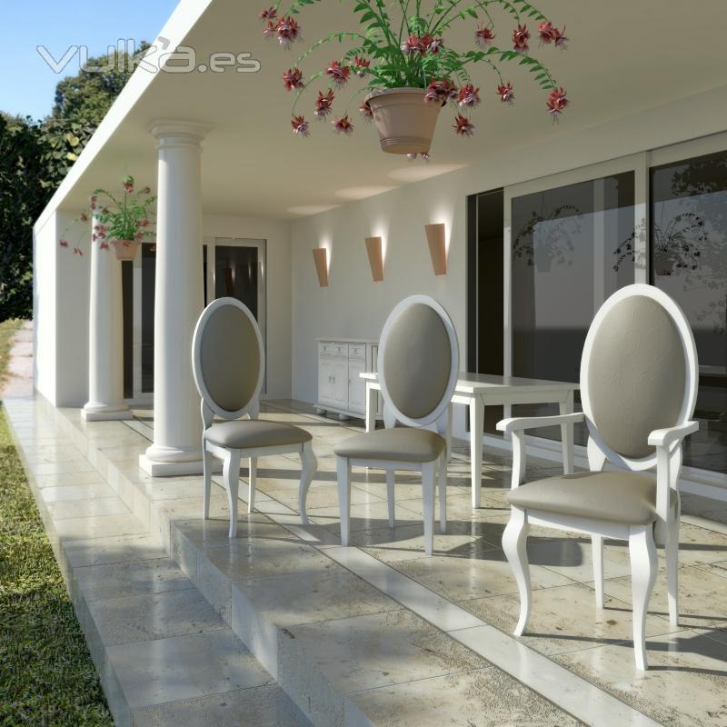 Foto sillas isabelinas de - Sillas isabelinas modernas ...