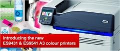 Nuevo concepto de impresi�n oki con la c931/es9431/es9531 5 colores.