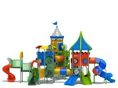 El Castillo M�gico, un juego muy completo con m�ltiples toboganes, torres, pasadizos etc...
