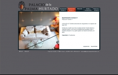 Diseño Web Flash - www.palaciodelapalmahurtado.com