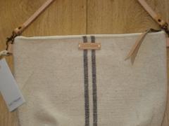 Bandolera st.remy  gris de algodón rústico marca sail & pepper