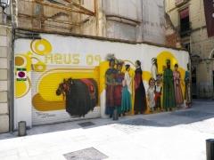 Mural gegants de reus