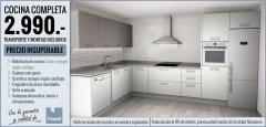 Precio insuperable: cocina por 2.990 euros
