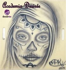 Tatuaje realizado por alumno de Academia Desirée