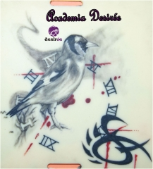 Tatuaje realizado por alumno de Academia Desir�e