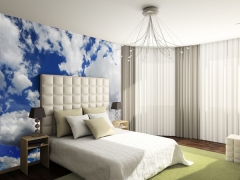 Fotomural dormitorio