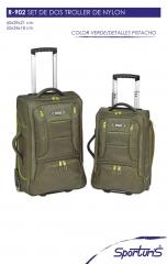Set r902gr, dos maletas