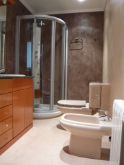 Microcemento en baño
