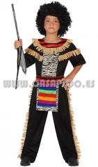 Disfraz de zul� para ni�o. disponible en varias tallas