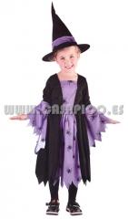 Disfraz de bruja infantil