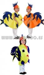 Disfraz de pez, disponible en varias tallas