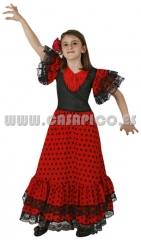 Disfraz de Sevillana, disponible en varias tallas.Infantil