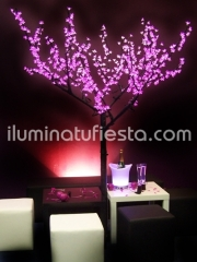 Arbol led luminoso