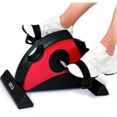 Pedaleador digital rojo y negro
