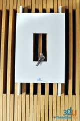 Exposici�n de esculturas 3d threedee-you foto-escultura 3d-u - hotel silken puerta am�rica madrid