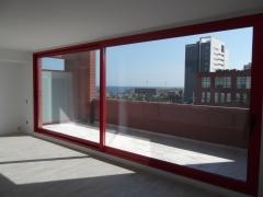 Balconera elevable en rotura de puente t�rmico y vidrio selectivo.