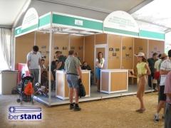 Stands modulares con tarima iberstand