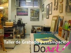 taller de grabado Doart, alquiler por horas