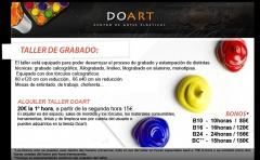 precios de alquiler de grabado por horas de Doart