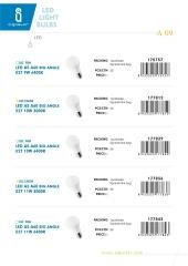 Led light bulbs a9