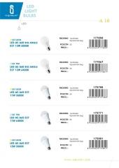 Led light bulbs a10
