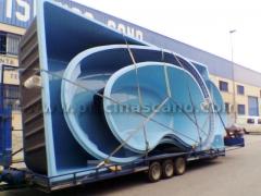 Fabricantes Piscinas en Fibra de Vidrio Poliester Piscinas CANO