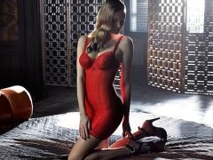 Combinacion reductora primadonna modelo couture color rojo pasion red kiss www.lenceriaemi.com