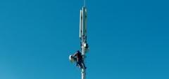 Trabajos reparación antena