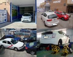 El taller de todos los taxistas de la  c. madrid