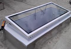 Claraboya , claraboyas , aluminio , techo , cristal , luz , ventilaci�n
