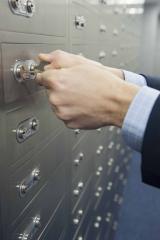Cajas de seguridad con llave de doble accion