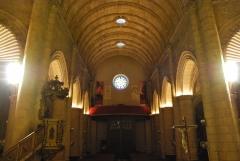 Iluminaci�n led santuario virgen del mar de almer�a