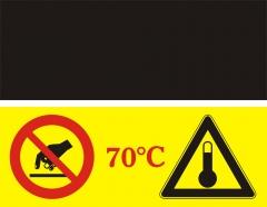 Indicador de temperatura para evitar quemaduras