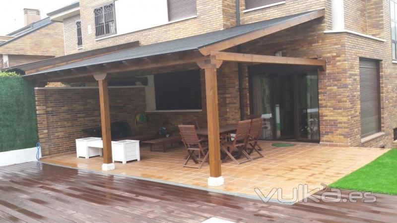 Valsa n porche jard n for Valsain porche y jardin