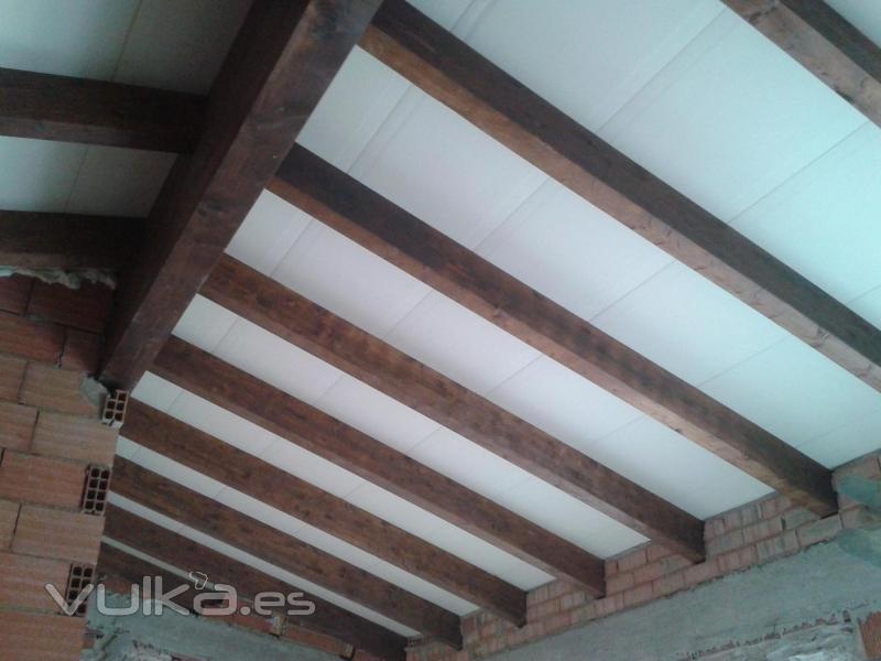 Cutecma estructuras de madera y tejados de madera for Tejados de madera vista