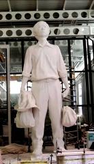 Escultura gran tama�o - threedee-you foto-escultura 3d-u