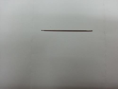 Aguja punta de bola para bordado en tul